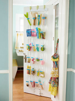 Creative Storage - back of door